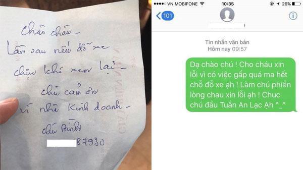 Lời nhắn gửi ý nghĩa tới chủ ôtô đỗ chắn cửa nhà 'gây bão' mạng của ông chú Đà Nẵng