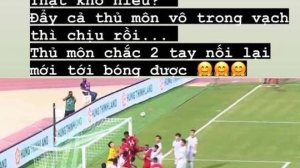 Hậu vệ đội tuyển Việt Nam bất mãn với trọng tài, bày tỏ sự bức xúc trên mạng xã hội