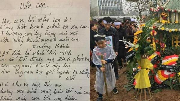 Người mẹ đơn thân bị ung thư viết bài thơ dặn con trước khi qua đời khiến ai đọc cũng bật khóc