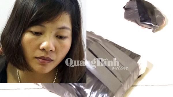 Quảng Bình: Tóm gọn kiều nữ tàng trữ trái phép ma túy