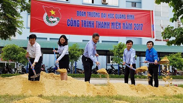 Tuổi trẻ Trường đại học Quảng Bình: Phát huy sức trẻ, góp phần xây dựng quê hương