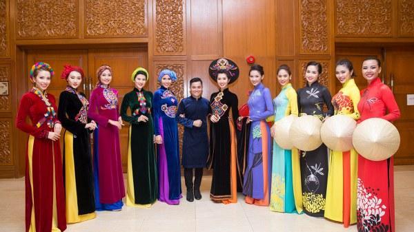 NTK Nhật Dũng: Muốn đưa hết vẻ đẹp Việt lên áo dài