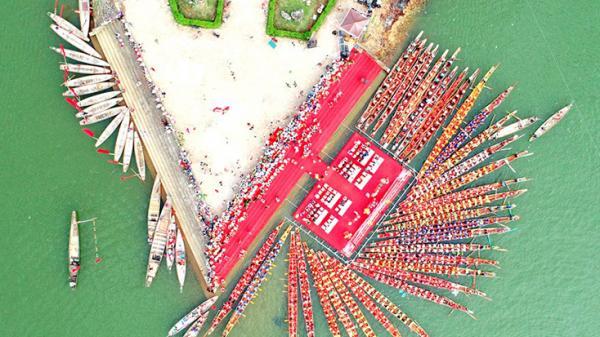 Sẽ thay đổi quy cách thuyền bơi truyền thống huyện Lệ Thủy