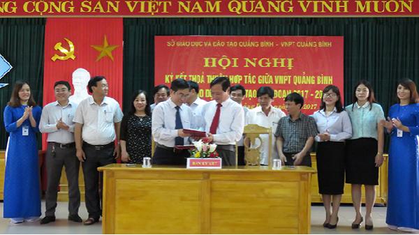 VNPT sẽ triển khai văn phòng ảo cho ngành Giáo dục Quảng Bình