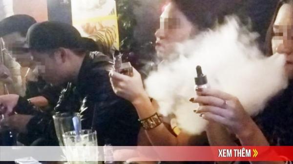 Đề xuất cấm sử dụng thuốc lá điện tử, thuốc lá làm nóng, shisha