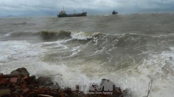 Thông báo khẩn về ứng phó với gió mạnh, sóng lớn trên biển từ Quảng Ninh đến Quảng Trị