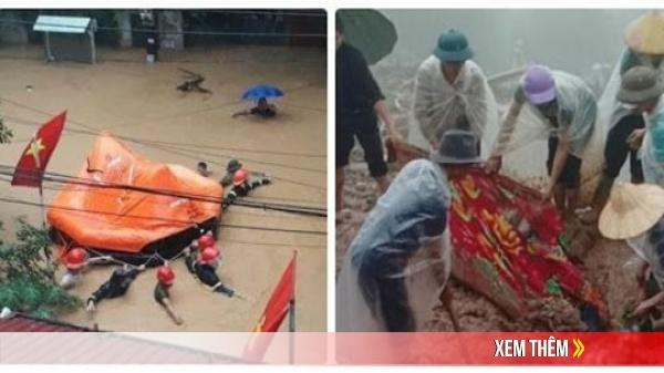 Thành phố Hà Giang chìm trong b.iển n.ước, 2 mẹ con bị v.ùi ch.ết