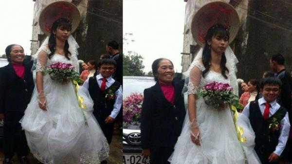 Chú rể cao 1m đủng đỉnh rước cô dâu 1,6m xinh đẹp khiến nhiều người trầm trồ