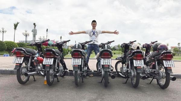 Xôn xao chàng trai 9X rao bán cả dàn xe Honda Dream giá hơn 1 tỷ đồng biển số 'đẹp như mơ'