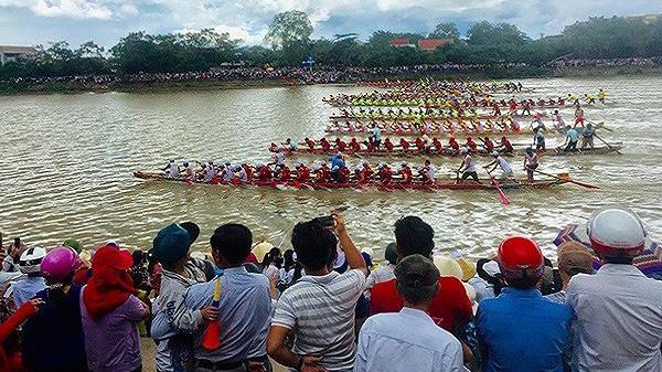 Quảng Bình: Hoàn tất khâu chuẩn bị cho Lễ hội bơi đua thuyền truyền thống 2/9 trên sông Kiến Giang