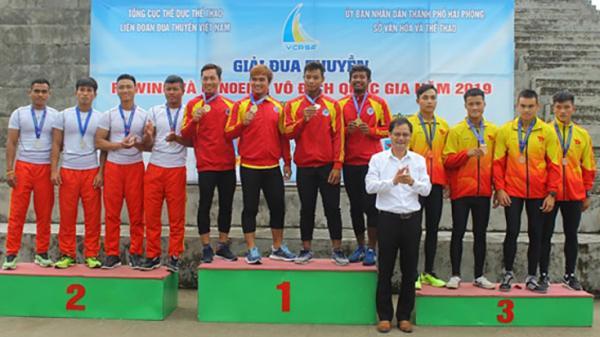 Quảng Bình giành 3 huy chương tại Giải đua thuyền rowing và canoeing vô địch Quốc gia