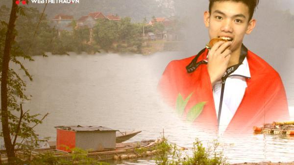 """Lũ dữ sông Gianh nâng bước """"cậu bé vớt rong"""" thành siêu kình ngư Huy Hoàng"""