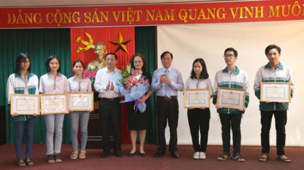 61 học sinh Quảng Bình tham dự Kỳ thi chọn học sinh giỏi Quốc gia