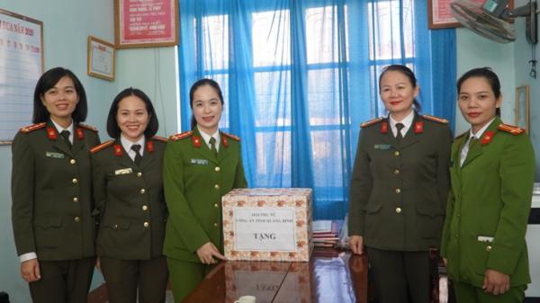 """Những """"bóng hồng"""" tiên phong của công an Quảng Bình"""