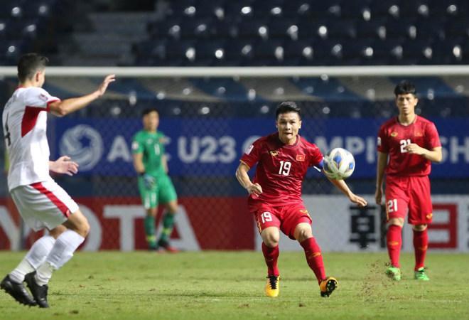 Quang Hải gặp nhiều khó khăn trước U23 Jordan