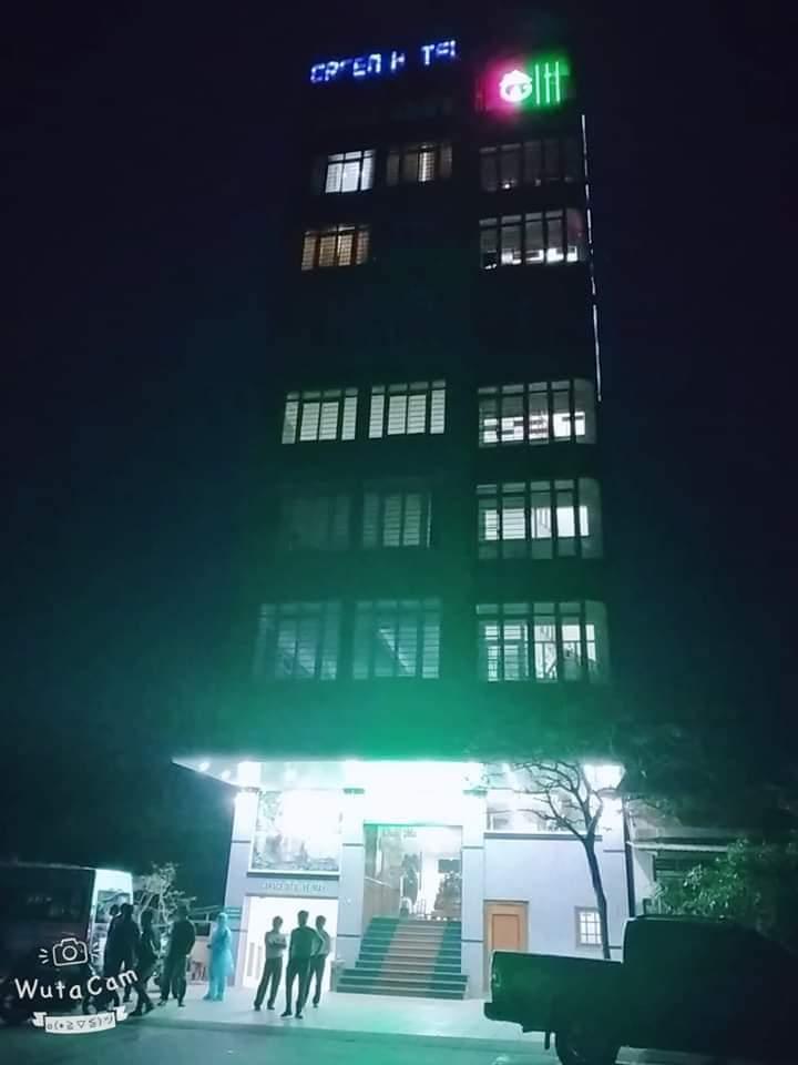 Khách sạn Gr ở thị trấn Khe Sanh, huyện Hướng Hóa, tỉnh Quảng Trị nơi 04 người Hà Nội lưu trú từ ngày 6/3-8/3. Ảnh: Internet.