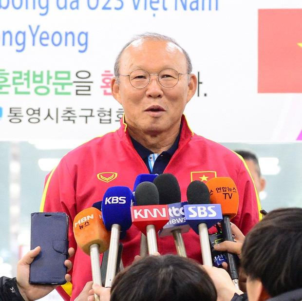 Thầy trò HLV Park Hang-seo nhận được tình cảm đặc biệt của các fan Hàn Quốc. Ảnh: Wikitree.