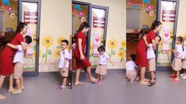Cô giáo mầm non dạy bé cách chào hỏi mới gây sốt cộng đồng m.ạng
