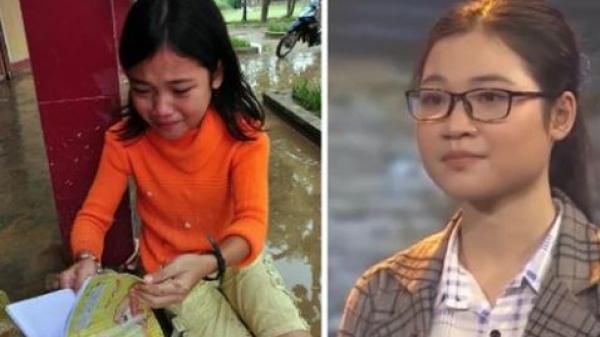 Sự thay đổi ngoạn mục của cô bé bật khóc nức nở khi nhìn sách vở ướt nhẹp trong dòng nước lũ cách đây 10 năm