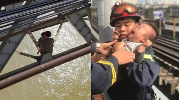 B.ế t.ắc trong cuộc sống, bố ôm con nhỏ 7 tháng tuổi ra cầu Long Biên kết thúc cuộc đời trong những ngày gần Tết