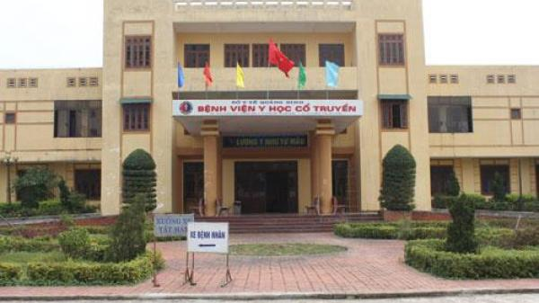 Bệnh viện Y học cổ truyền Quảng Bình: Thông báo xét tuyển viên chức năm 2017