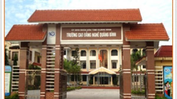 Trường Cao đẳng nghề Quảng Bình: Thông báo tuyển dụng viên chức năm 2018