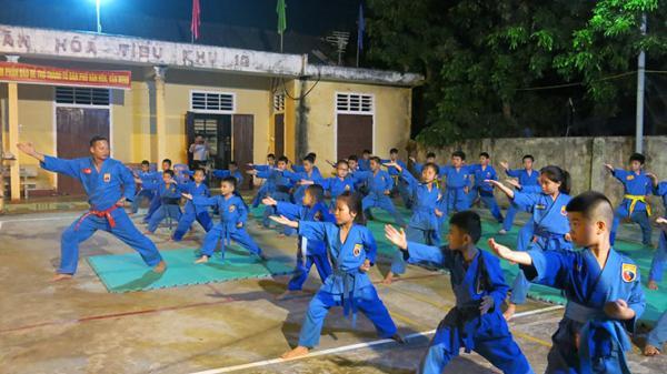 Sức hút của Vovinam ở Quảng Bình