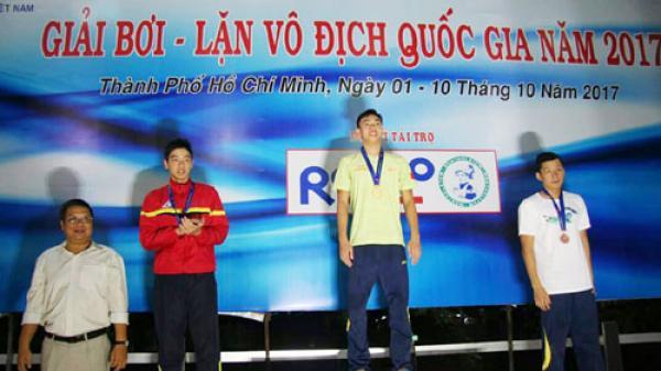 Đội tuyển Bơi - Lặn Quảng Bình giành được 24 Huy chương tại Giải Vô địch Quốc gia năm 2017