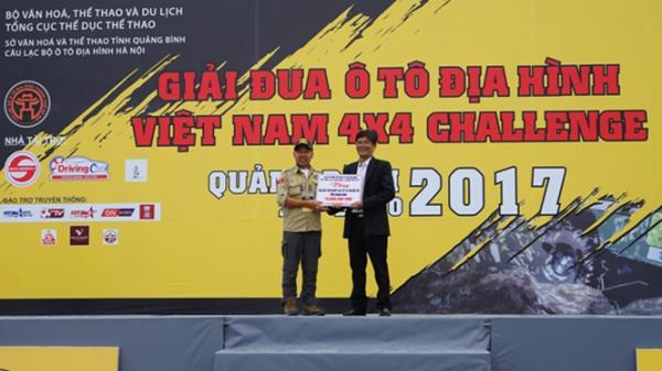 Khai mạc Giải đua xe ô tô địa hình RFC Việt Nam năm 2017