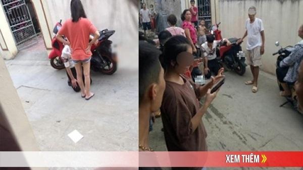 Thanh niên đẹp trai ăn mặc bảnh chọe đi SH xịn quỳ suốt 3 tiếng đồng hồ trước cửa nhà người yêu để xin lỗi