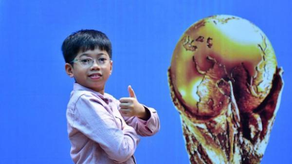 Đây chính là cậu bé duy nhất của Việt Nam ra sân ở trận chung kết World Cup 2018