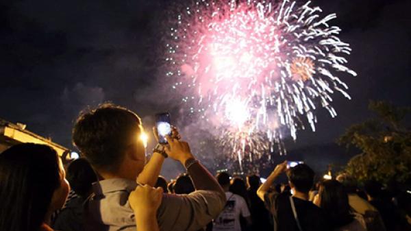 Phong Nha tổ chức b ắ n pháo hoa và các hoạt động vui hội chào đón tết dương lịch 2020