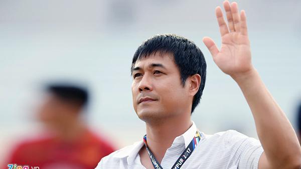 HLV Hữu Thắng từ chức sau thất bại ở SEA Games 29. Ảnh: Tiến Tuấn.